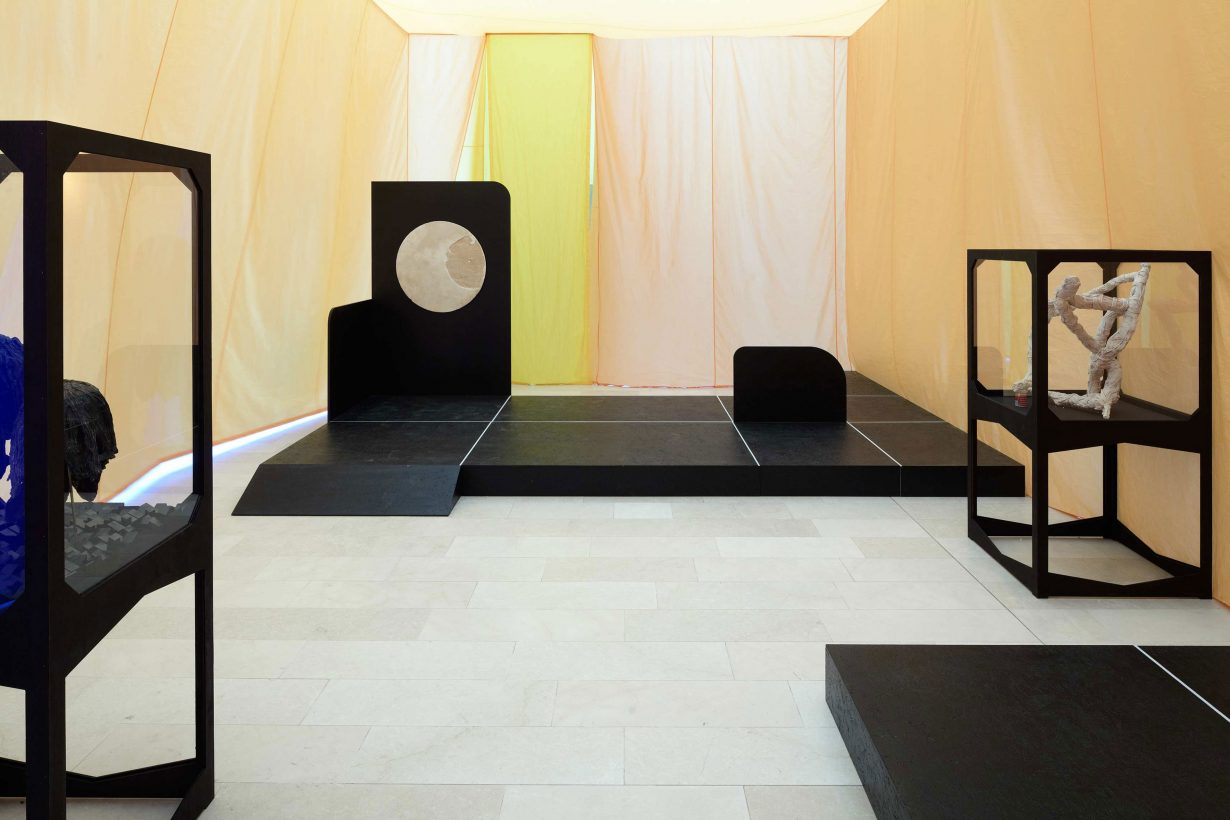 One Language Traveller, 2011 (installation view, Statens Museum for Kunst) photo: Anders Sune Berg, courtesy Max Wigram Gallery