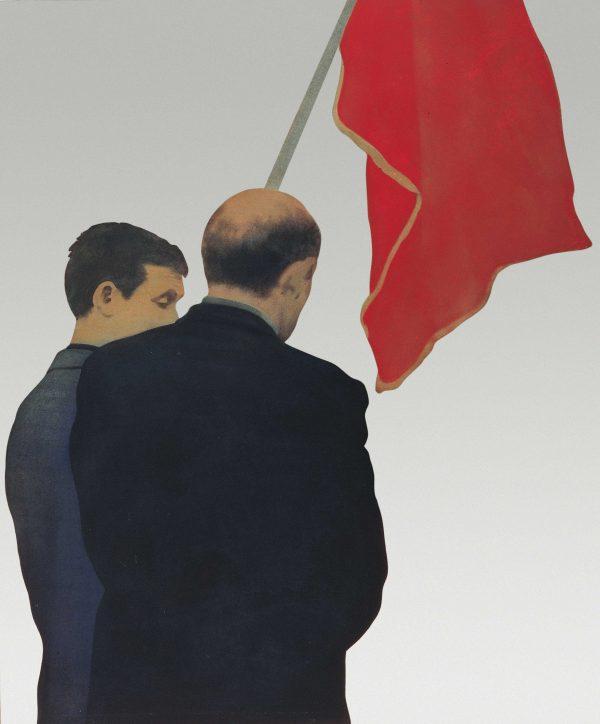 Bandiera Rossa (Comizio 1) 1966, François Pinault Collection. Courtesy the artist