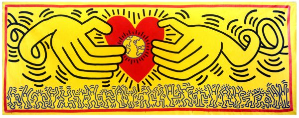 Keith Haring, Untitled, 1983. Courtesy Lia Rumma Archive, Naples and Milan