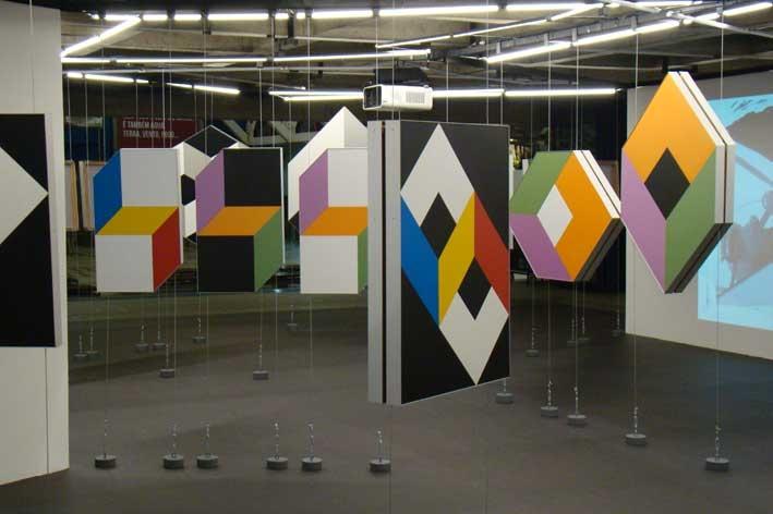Jogos de Dados e Sobras, 2013 (installation view). Photo: Alexandre Nunis. Courtesy sesc Vila Mariana, São Paulo