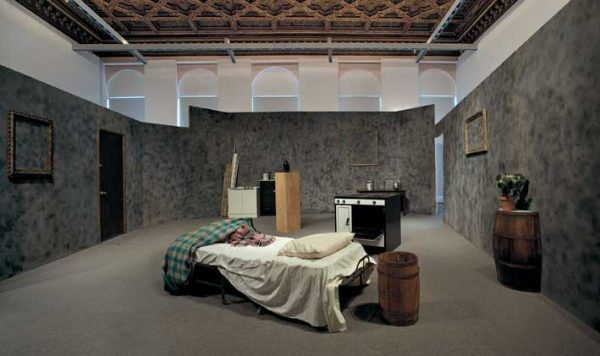 Mike Kelley, Extracurricular Activity Projective Reconstruction #1 (A domestic scene), 2000 (installation view, Palazzo Grassi, Venice, 2007)