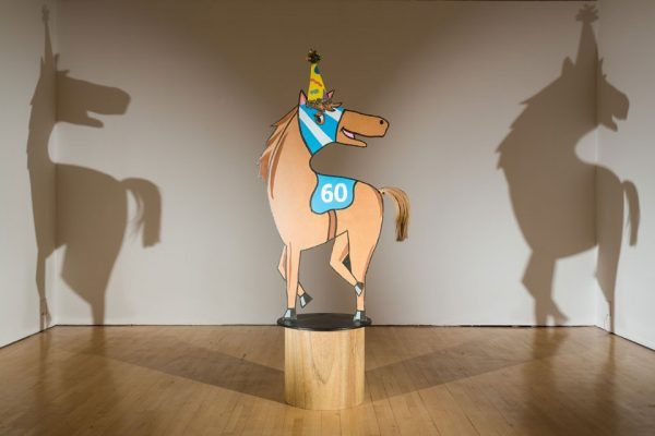 Horse Shadow, 2010–12 (installation view, ICA, London). Photo: Mark Blower
