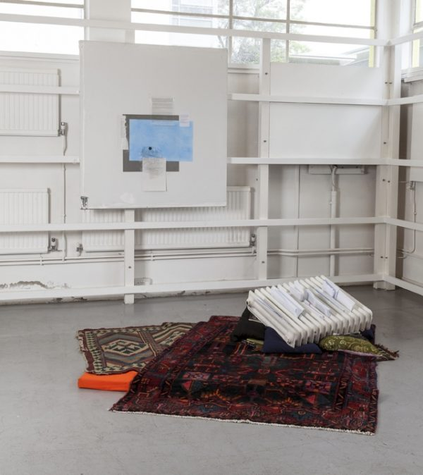 Gerry Bibby, Combination Boiler, installation view,The Showroom, 2014, web review July 2014