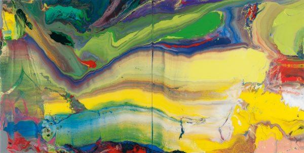 Gerhard Richter 933-7 Flow, from Dec 2014 Review