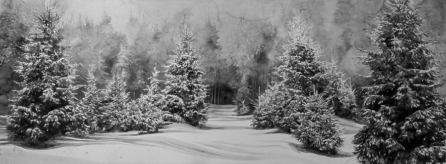 Hans Op de Beeck Snow Landscape (1), from Jan_Feb 2015 Review
