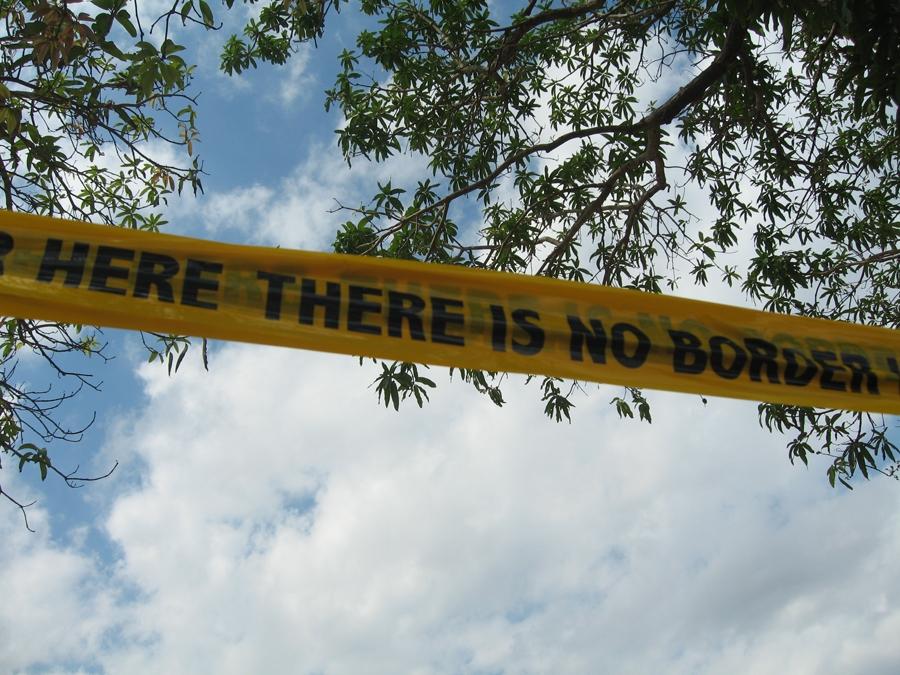 Shilpa Gupta, There is No Border Here
