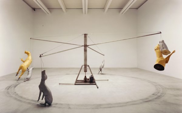 Bruce Nauman Carousel from May 2015 review