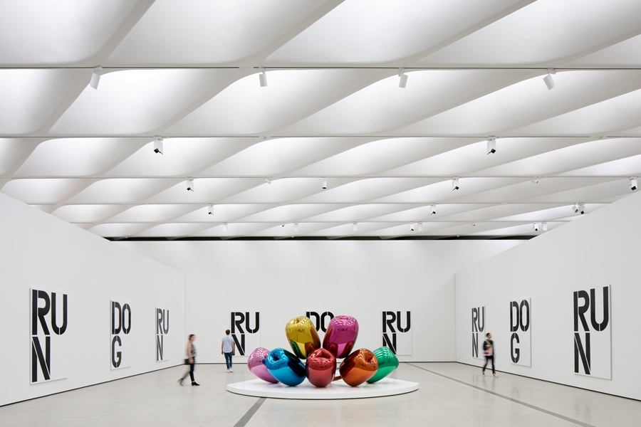 Christopher Wool and Jeff™ Koons at Broad Museum