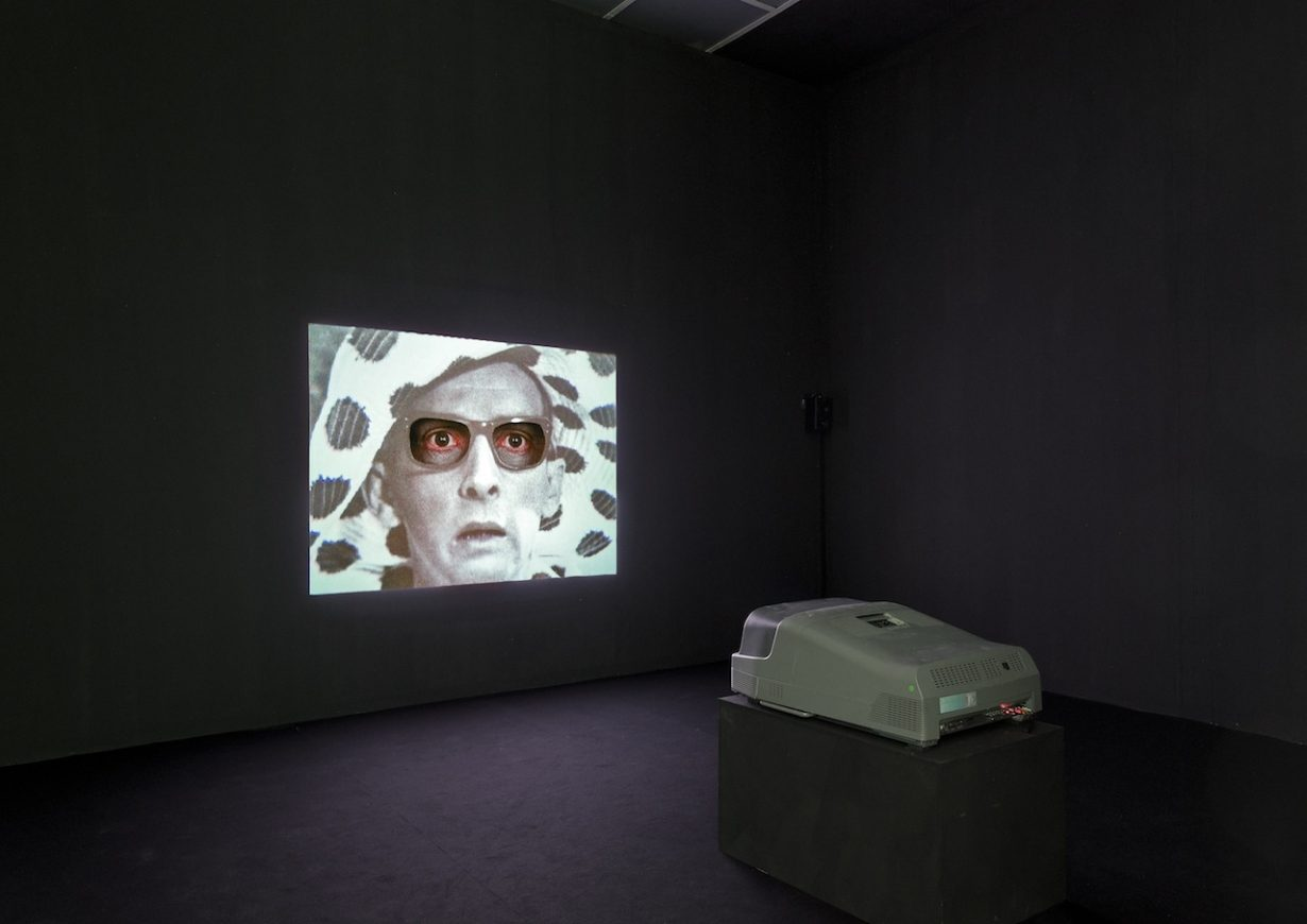 Mark Leckey, We Transfer, 2015 (installation view, Living Within The Ecstasy of Always Bursting Forth, Secession, 2015). Jan_Feb 2016 Review
