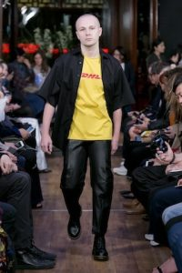 Vetements, Spring/Summer 2016 show: DHL T-shirt. Photo: Gio Staiano
