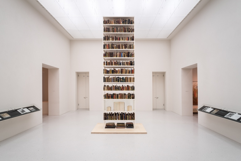 Maria Eichhorn, Unlawfully acquired books from Jewish ownership, 2017. Online review Documenta 14