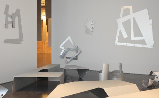 Ayşe Erkmen, Kıpraşım Ripple (installation view), 2017. AR Summer 2017 Review