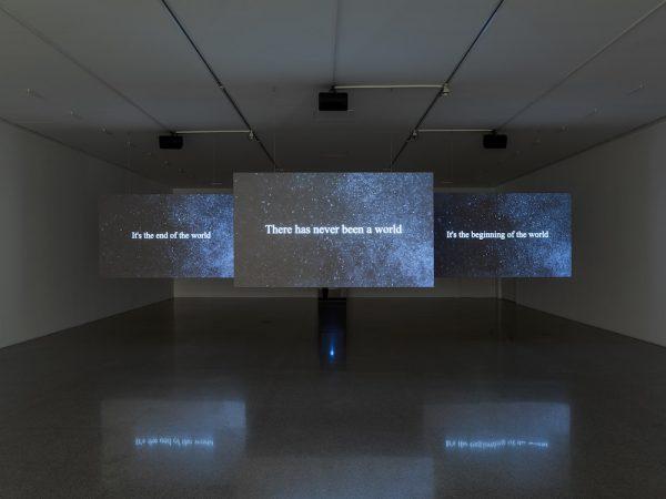 Hannah Black,<i>'Small Room'</i>, installation view. Image: mumok / Klaus Pichler