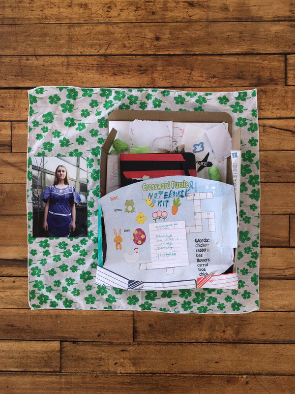 Susan Cianciolo, Notebooks Kit, from AR September 2017 Previews