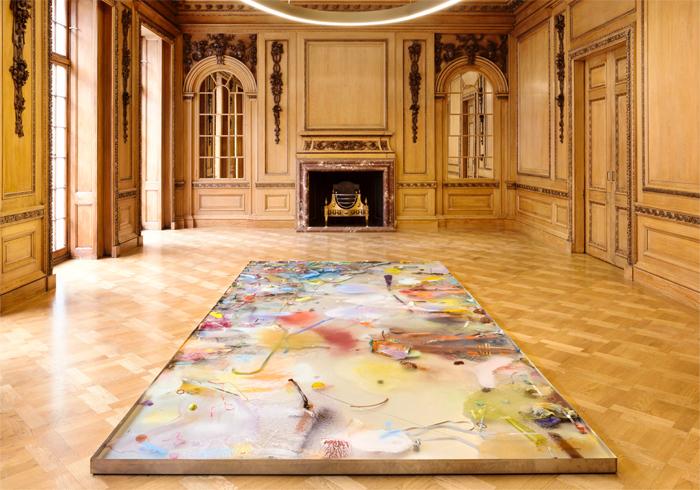 Samara Scott, Lonely Planet II (2015). Image: The Sunday Painter