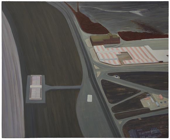 Carol Rhodes, Pier (Night), 2000. AR December 2017 Feature