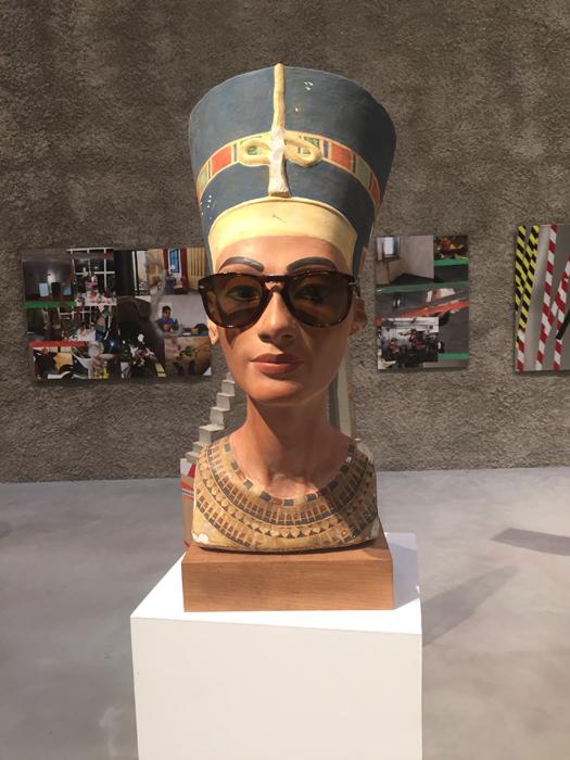 Isa Genzken's Nefertiti, from AR March 2018 UTPS Berlin John Quin