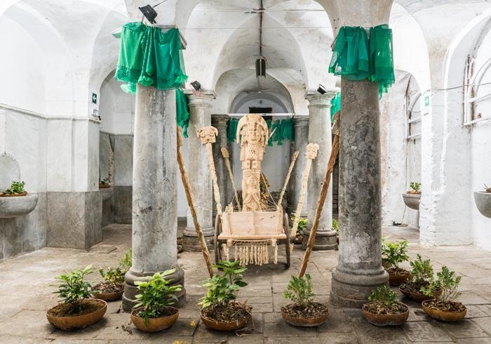 Jelili Atiku, Festival of the Earth, from AR September 2018 Review Manifesta 12 Palermo