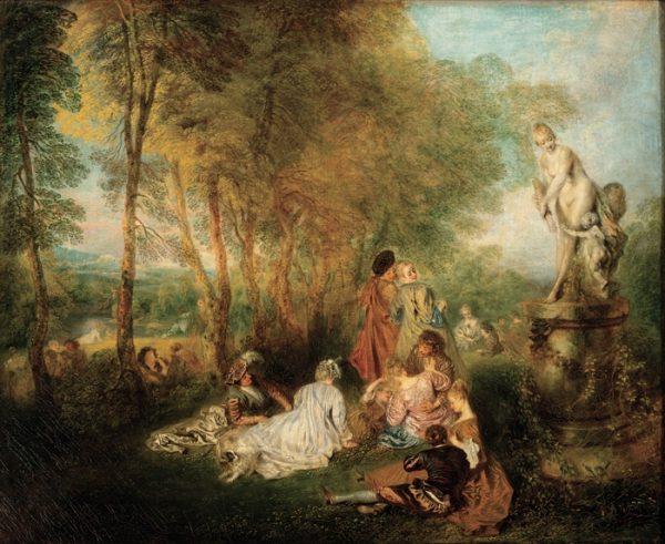 Antoine Watteau, The Feast of Love