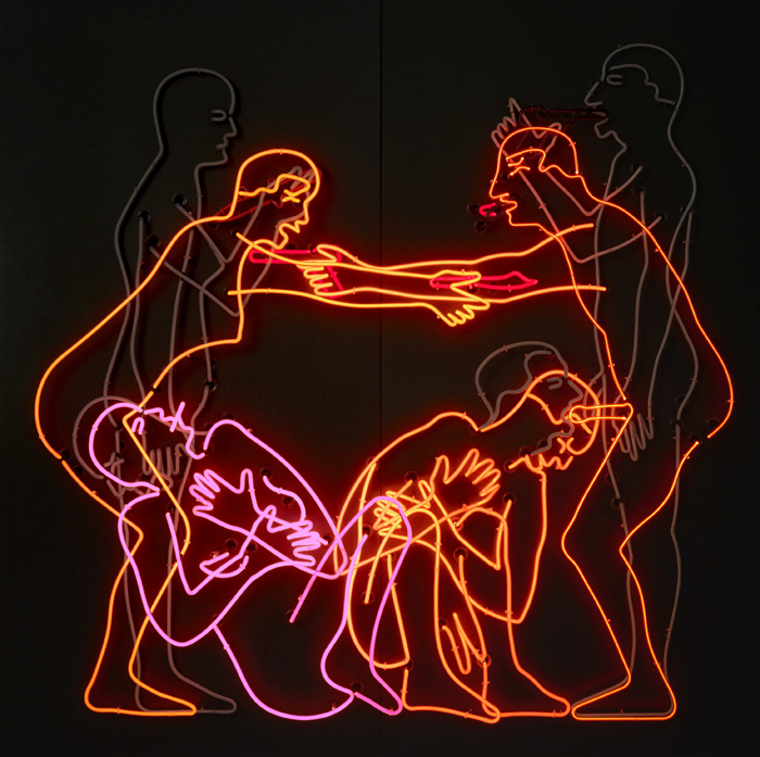 Bruce Nauman, Sex and Death by Murder and Suicide, from AR October 2016 Feature Nauman JTD Neil