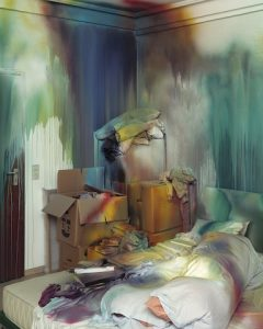 Katharina Grosse, Das Bett, 2004. ARA Winter 2018 Feature