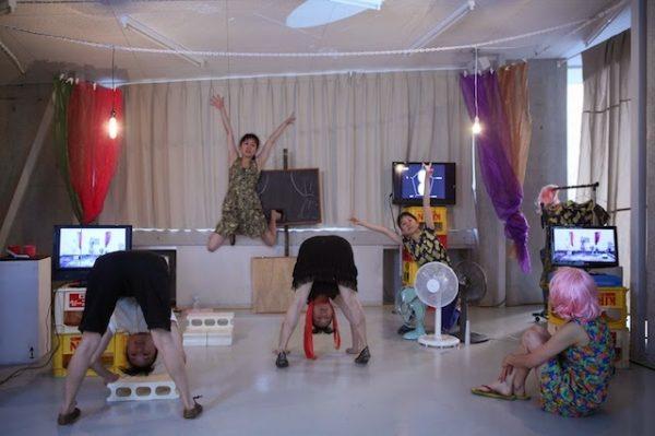 Chiharu Shinoda, The 5×5 legged stool, 2018. ARA Winter 2018 Feature