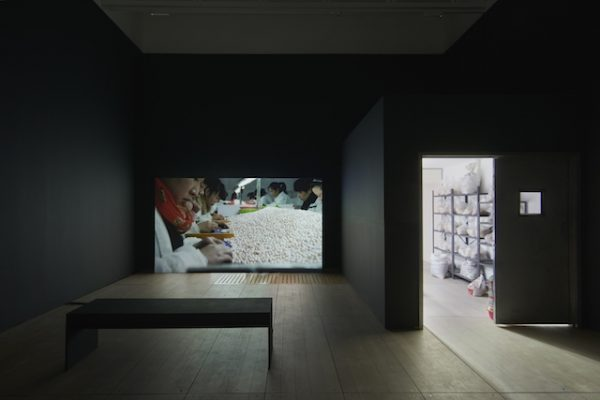 Mika Rottenberg (installation view), 2018. AR December 2018 Review