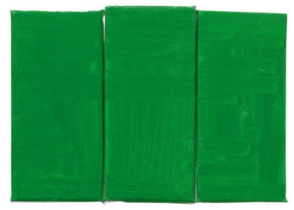 Raoul De Keyser, Green, Green, Green, 2012. AR Jan_Feb 2019 Review