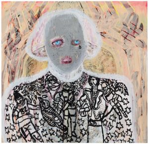 Camilla Vuorenmaa, Blue eye, 2018. AR March 2019 Review