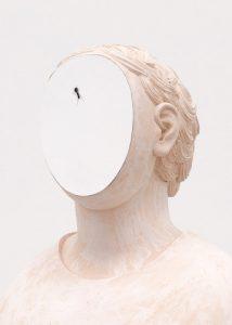 Anna Hulačová, Portrait with an Ant, 2017