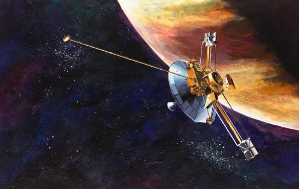 Pioneer probe, from AR Online exclusive 9 August Space Junk