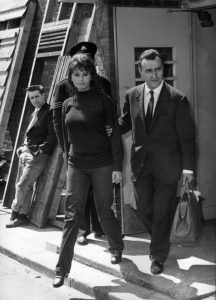 Sophia Loren with Pierre Rouve