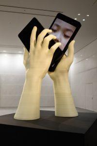 exonemo, The Kiss, from ARA Autumn 2019 Review Aichi Triennale