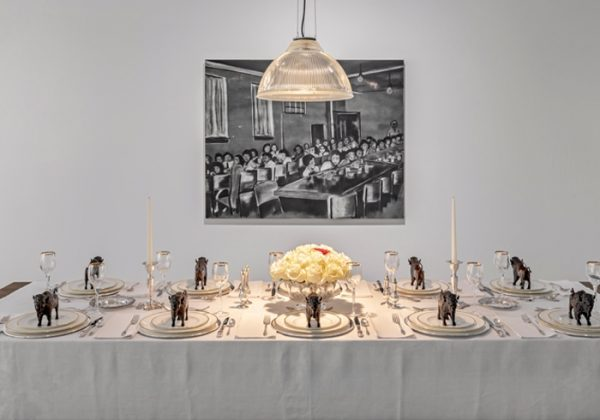 Adrian Stimson, Iini Sookumapii: Guess who's coming to dinner?, from Online exclusive 4 October 2019 Korman Toronto Biennial