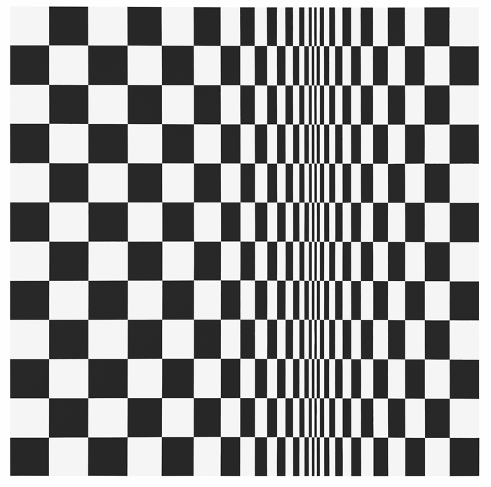 Bridget Riley, Movement in Squares, from AR October 2019 Previews