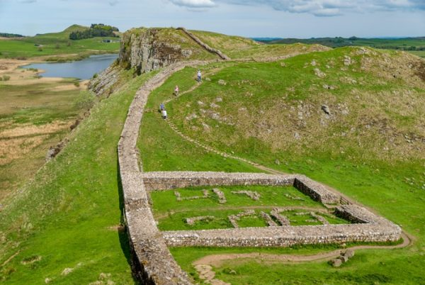 Remains of Castle Nick along Hadrian's Wall, from AR October 2019 Opinion Sam Jacob
