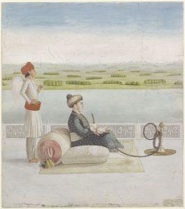 Portrait of John Wombwell Smoking a Hookah. ARA Winter 2019 Feature