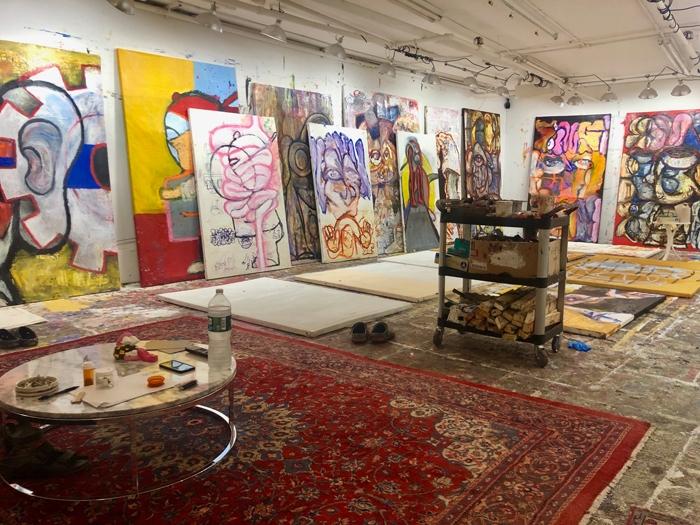 Gerasimos Floratos's New York studio