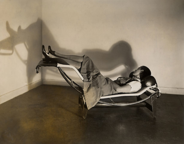 Charlotte Perriand on the Chaise lounge basculante B 306, from AR November 2019 Previews
