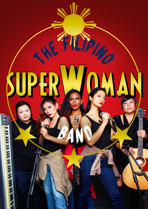 Eisa Jocson The Filipino Superwoman Band
