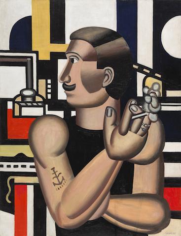 Fernand Léger, Le Mécanicien, from AR November 2019 Previews