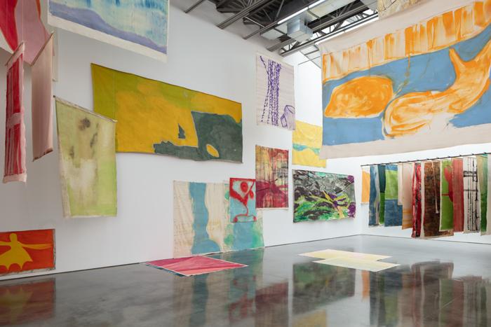 Vivian Suter, 2019 (installation view). AR December 2019 Feature