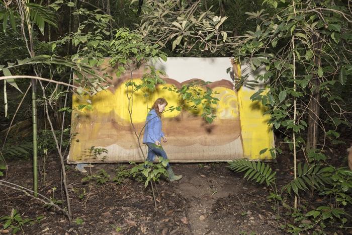 Vivan Suter in her garden, Panajachel, Guatemala. AR December 2019 Feature