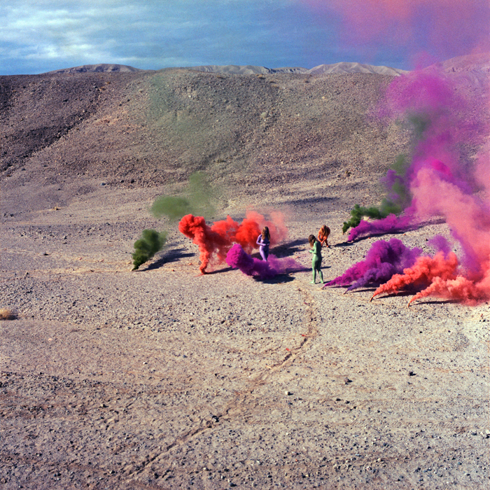 Judy Chicago, Smoke Bodies from Women and Smoke, from AR December 2019 Previews