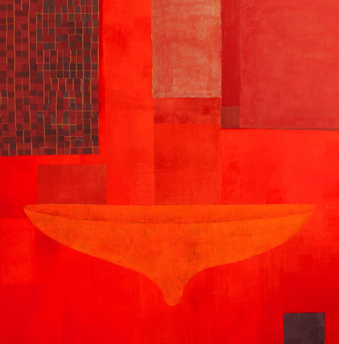 Pinaree Sanpitak, Red Alert! My Body My Space I, 2018–19. ARA Winter 2019 Feature
