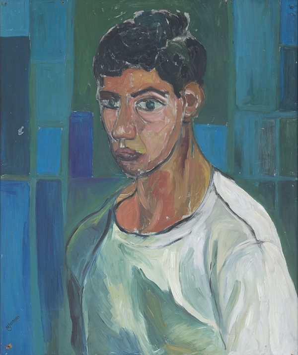 Derek Jarman, Self-portrait, 1959. AR March 2020 review