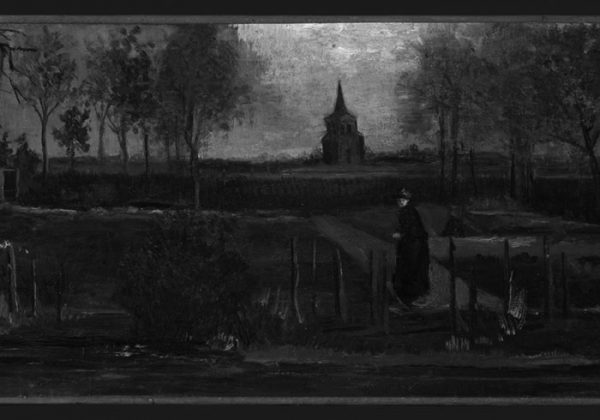 Vincent van Gogh, The Parsonage Garden at Nuenen in Spring, 1884. News 31 March 2020