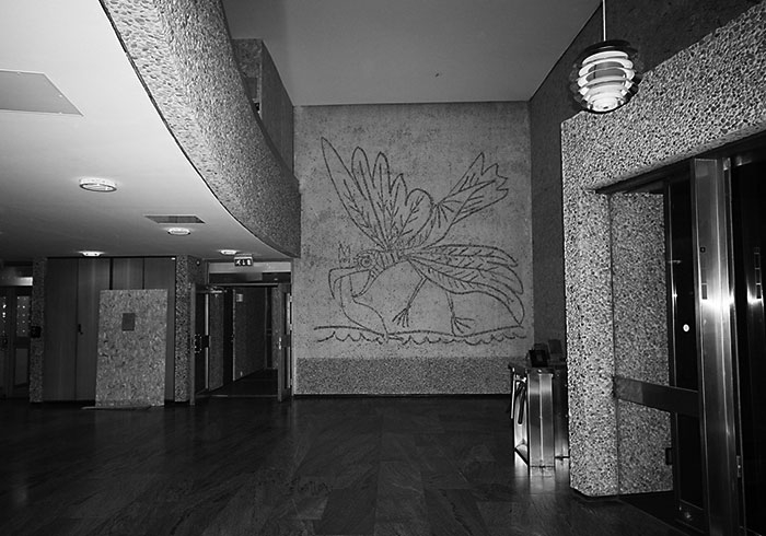 The Seagull. News 4 March 2020 Norway to demolish building with Picasso murals