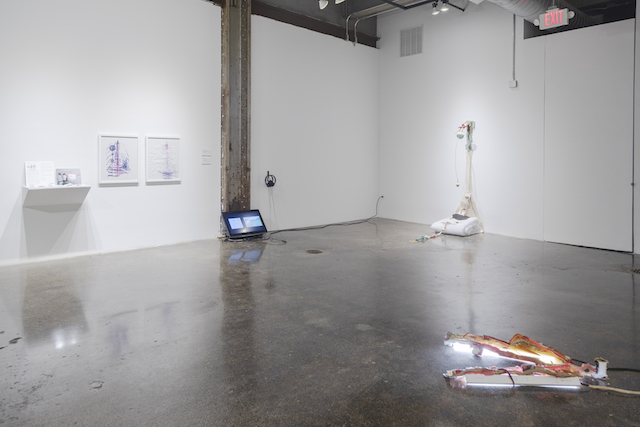Sick Time, Sleepy Time, Crip Time, 2019 (installation view). AR March 2020 Review