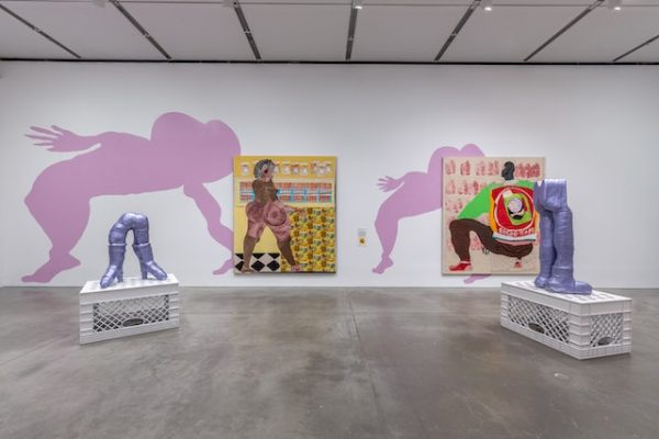 Tschabalala Self. Out of Body, 2020 (installation view). AR Review March 2020